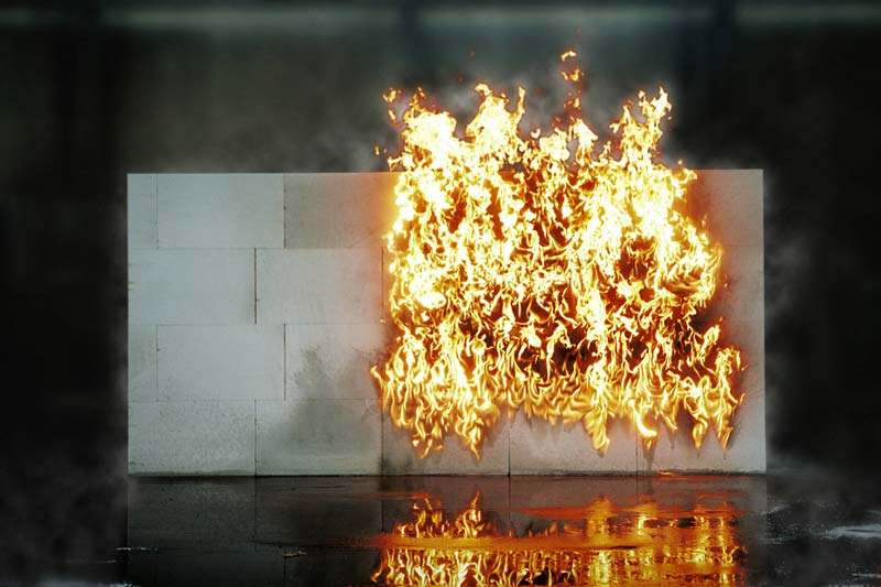 Materiały budowlane ognioodporne
