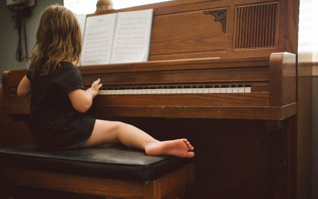 Gra na pianinie od najmłodszych lat