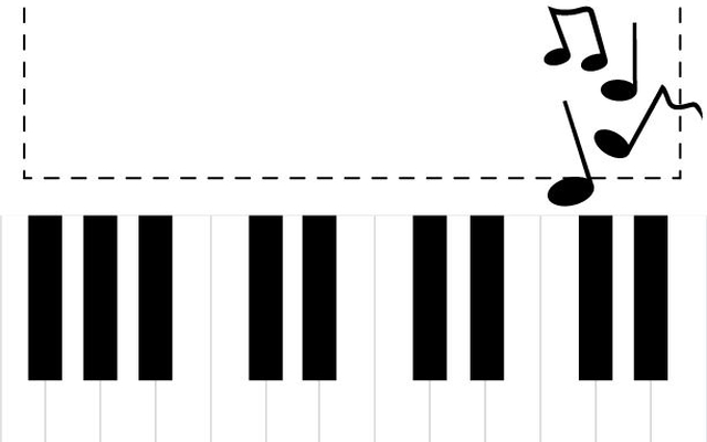 Gdy dziecko chce grać na pianinie